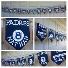 Padres little league banner  on Etsy, $10.00