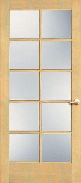 Pine wood 10-Lite Interior Door Styles, Wood Doors, Home Renovation, Pine, Furniture, Ideas, Home Decor, Wooden Doors, Pine Tree