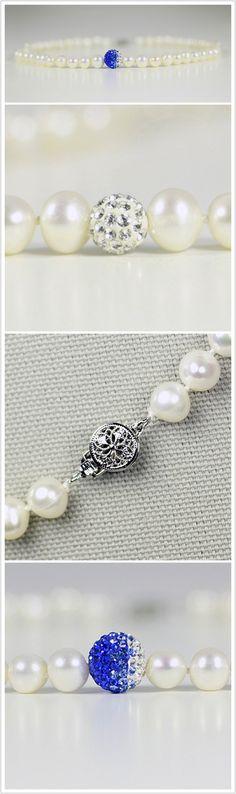 Zeta Phi Beta Necklace with Fireball Price:$125 http://www.gratiapearl.com/zeta-phi-beta-necklace-with-fireball/