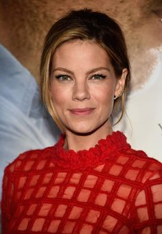 Michelle Monaghan wears the Vita Fede Lia Crystal Earrings in Rose Gold  (Available Fall 2014)