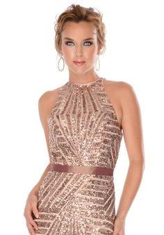 Precious Formals Dress L46710 at Peaches Boutique