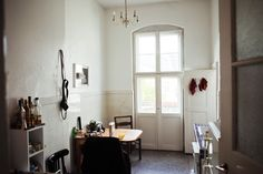 Jen Gilpin & Maxime Ballesteros — Fashion Designer and Photographer, Apartment and Studio, Berlin-Mitte.