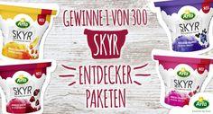300 Tester für Arla® SKYR Produktpakete