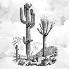 Quadro - Big Cactus - Decohouse