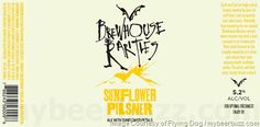 mybeerbuzz.com - Bringing Good Beers & Good People Together...: Flying Dog - Sunflower Pilsner Coming To Berwhouse...