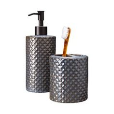 Target Home™ Bath Collection - Toothbrush holder and soap dispenser $10