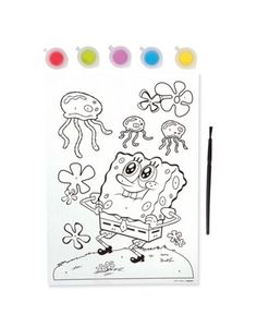 SpongeBob Paint By Number - Party City