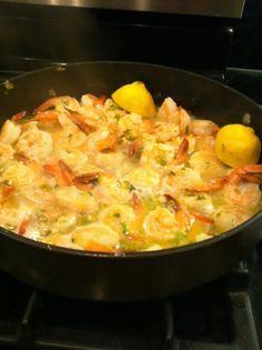 Pioneer Woman: 16 minute shrimp scampi