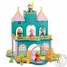 Un vrai Château de princesse ! Découvrez le monde des figurines princesses Arty Toys et le lagoon palace de Djeco...