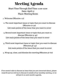 Agenda For A Meeting Template Fascinating Meeting Notes  Just Because.pinterest  Notes Template .