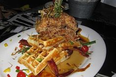 Enjoy a new twist on old favorites at Hash House a Go Go.