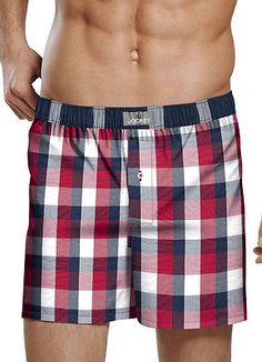 $6.99 for Jockey Mens Woven Boxer Underwear Boxers 100% cotton