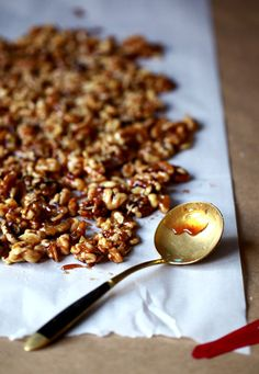 SALTED PORT CANDIED WALNUTS  http://nectarandlight.typepad.com/nectar/2011/12/holidays-are-about-traditions-we-have-some-that-we-honor-relifiously-every-season-some-we-out-grow-and-some-we-sadly-forget.html