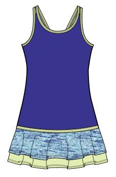 Tail Junior Girls & Toddler Tennis Dresses - Treats | Junior Girls ...
