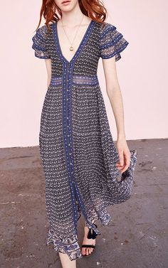 Ambra floral maxi dress by Ulla Johnson