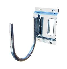 """(Pack of 4) Heavy Duty E Track 5"""" Finger J Hook Fitting Enclosed Trailer Cargo Management. For product info go to:  https://www.caraccessoriesonlinemarket.com/pack-of-4-heavy-duty-e-track-5-finger-j-hook-fitting-enclosed-trailer-cargo-management/"""
