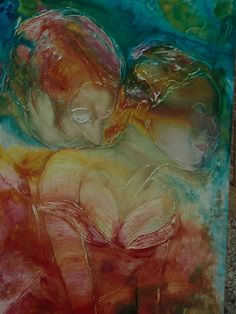 "Saatchi Online Artist Marcus Levey; Painting, ""Tenderness"" #art"
