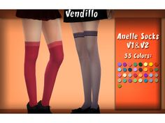The Sims 4 Anelle Socks & by vendillo-sims Sims 4 Seasons, Los Sims 4 Mods, Sims 4 Cc Skin, Sims 4 Mm, The Sims 4 Download, Plaid Pajamas, Sims 4 Clothing, The Sims4, Ts4 Cc