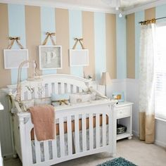 Baby Boy Nursery on a Budget {diy decor}   # Pinterest++ for iPad #