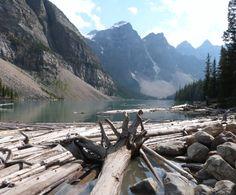 Parque Nacional Banff, Canadá. Foto de Montserrat Morales. #Canadá #Lago #Montañas #Arboles #Banff #LPTraveller