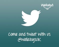Come and tweet with us @wellabysuk