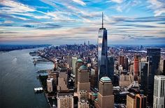 Learn more about the story behind One World Observatory at One World Trade Center. The official site for New York City's newest destination, opening Spring Manhattan Skyline, Lower Manhattan, New York Skyline, One World Trade Center, New Travel, Travel Deals, Travel Expert, Travel Destinations, World Trade Center Observatory