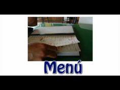 ✰ Aprender español ☛ El restaurante ☚ Vocabulario ✰ - YouTube Spanish, Reading, School, Books, Youtube, Learn Spanish, Vocabulary, Food, Beverages