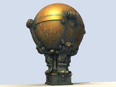 Textured Globe