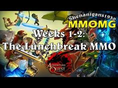 The MMOaholic - MMORPG Madness!: AdventureQuest 3D - Weeks 1-2: The Lunchbreak MMO ...