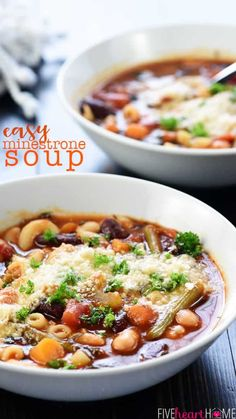 Best Soup Recipes, Healthy Soup Recipes, Dinner Recipes, Cooking Recipes, Veggie Recipes, Menu, Soups And Stews, Italian Recipes, Food And Drink