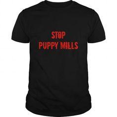Stop Puppy Mills  Mens Long Sleeve TShirt Shirt Labrador Shirt