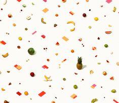 Arte di frutta esotica. The art of exotic fruit. Artwork: Andrew Myers #vemmulticolore