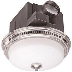 Monument 110 CFM Bathroom Fan with Light