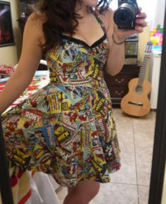 Marvel Dress Custom Orders Accepted by FashionablyGeeky247 on Etsy, $50.00