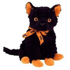TY Beanie Baby - FRAIDY the Black Cat (6 inch)