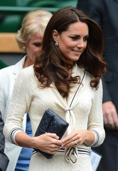 Kate at Wimbledon. July 4, 2012.