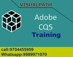 Adobe CQ5 Online Training institute in Hyderabad and India with job support Visualpath is the coaching institute for adobe cq5 training online, cq5 training by real time experts trainings best quality coaching institute in Hyderabad