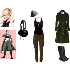 fem germany hetalia cosplay | fashion look from November 2012 featuring Burberry coats and G-Star ...