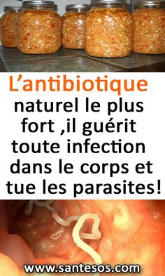 L'antibiotique naturel le plus fort , il guérit toute infection dans le corps et tue les parasites! #aintibiotiquesnaturels #infection #lecorps #parasites #remede Flu Remedies, Home Remedies, Accupuncture, Skin Detox, Natural Health Remedies, Natural Medicine, Natural Healing, Weight Loss Tips, Allergies