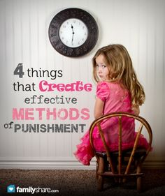 4 things that create effective methods of punishment