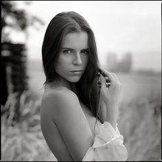 Aleksa Slusarchi. Ukrainian model.