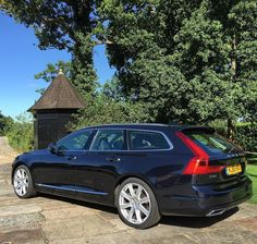 Driving this today. Contender for best looking wagon ever. #Volvo #V90