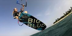 Big Blue Boards choose to create kite gear and a community dedicated to women and to empower women around the world. Kite Board, Extreme Sports, Tanzania, Surfing, Campaign, Boards, Around The Worlds, Community, Canning