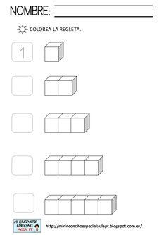 Regletas sumas by Puri González Serrano via slideshare