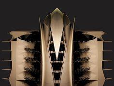 MSF HQ tower and balustrade design Balustrade Design, Tower, Van, Studio, Home Decor, Brandenburg, Homemade Home Decor, Lathe, Vans