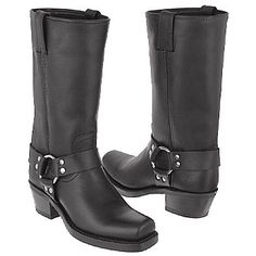 Frye Harness 12R Boots (Black) - Women's Boots - 8.0 M