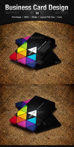 48 best cmyk images on pinterest business card design carte de business card design 38 business cards print templates reheart Images