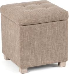 Neptune Louis Stool with storage | Footstools & ottomans