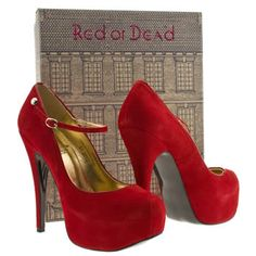 Women's Red Red Or Dead Bardot at Schuh