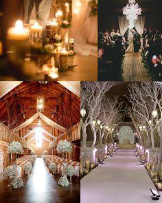 Winter Wedding Ceremony Inspiration